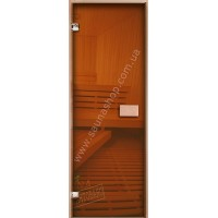 Двери для саун VALTE bronza 630x1770