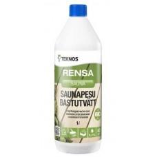 Средство для чистки лежаков Teknos  Saunapesu, 1,0л