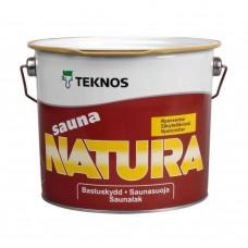 Пропитка для вагонки Teknos Sauna Natura, 2.7л Финляндия